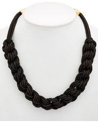 Lafayette 148 New York - Braided Signature Mesh Necklace - Lyst