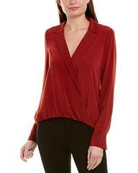Bailey 44 Womens Warm and Fuzzy Stripe V Neck Sweater Top