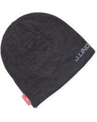 J.Lindeberg Aello Hat Knit - Black