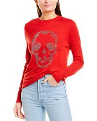 Zadig & Voltaire Miss Skull Nosfa Sweater - Red