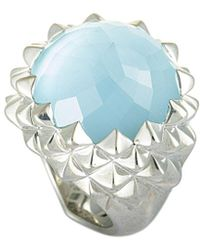 Stephen Webster Silver 21.00 Ct. Tw. Gemstone Ring - Metallic