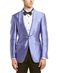 Tom Ford Silk Sport Coat - Purple