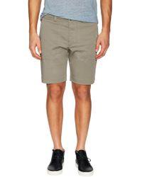Diesel Black Gold Petah Cotton-blend Shorts - Gray
