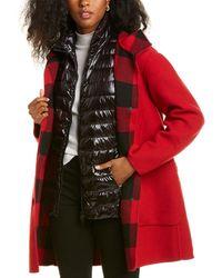 Woolrich 3-in-1 Hershey Wool-blend Down Coat - Blue