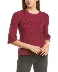 Michael Stars Swing Sweater - Red