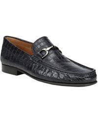 Donald J Pliner Darrin Leather Loafer - Black
