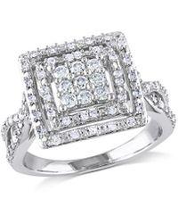 Rina Limor 10k 0.50 Ct. Tw. Diamond Engagement Ring - Metallic