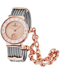 Charriol Women's St Tropez Diamond Watch - Multicolor