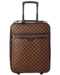 Louis Vuitton Damier Ebene Canvas Pegase 50 - Brown