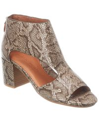 Gentle Souls By Kenneth Cole Charlene Leather Sandal - Multicolour