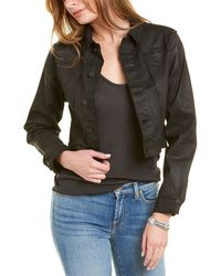 7 For All Mankind - 7 For All Mankind Cropped Jacket - Lyst