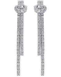 Diana M. Jewels . Fine Jewellery 18k 4.52 Ct. Tw. Diamond Earrings - Metallic