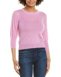 Marella Dental Wool Sweater - Pink