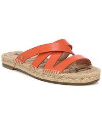Sam Edelman Averie Leather Sandal - Multicolour