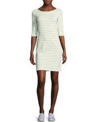 Saint James - Propriano Stripe Shift Dress - Lyst