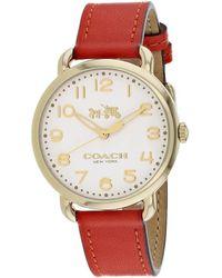 COACH Delancey Watch - Multicolor