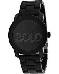 Movado Bold Watch - Black