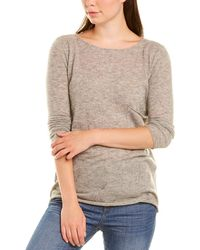 Autumn Cashmere Cashmere & Silk-blend Jumper - Grey