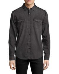 BLK DNM - 25 Spread Collar Shirt - Lyst