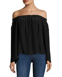 Jay Godfrey - Holly Off The Shoulder Top - Lyst