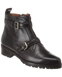 Tabitha Simmons Aggy Leather Bootie - Black