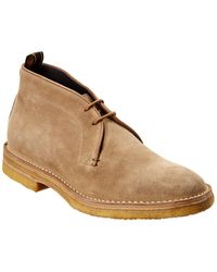 Dunhill Touring Desert Suede Boot - Brown