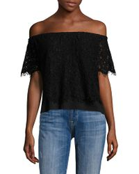 Generation Love - Carly Lace Off-the-shoulder Top - Lyst