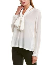 Weekend by Maxmara - Weekend Max Mara Silk Top - Lyst