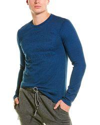 Superdry Shirt Shop Embossed T-shirt - Blue