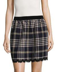 Anna Sui - Tartan Mini Skirt - Lyst