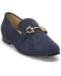 Cole Haan Mc Suede Loafer - Blue
