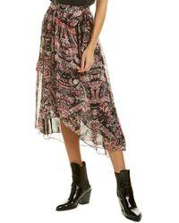 IRO Deroie Wrap Skirt - Black