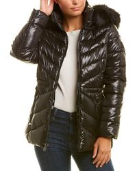 Kenneth Cole Puffer Coat - Black