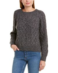 Vince Boatneck Wool & Cashmere-blend Sweater - Gray