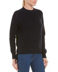 Joie Adanya Cashmere-blend Sweater - Blue