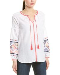 Joules Blouse - White