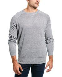 Brunello Cucinelli Linen-blend Jumper - Grey