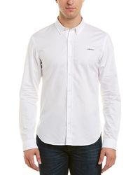 Maison Labiche French Touch Slim Fit Buttondown Shirt - White