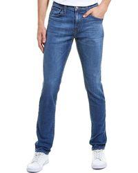 J Brand Mick Kamet Skinny Leg - Blue