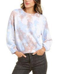 Michael Stars Sia Cropped Sweatshirt - Blue
