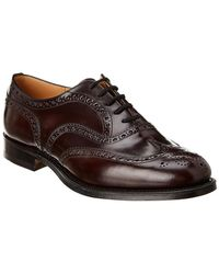 Church's Leather Oxford - Red