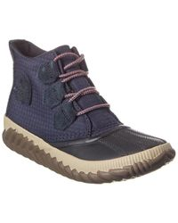 Sorel Out N About Plus Suede Bootie - Brown