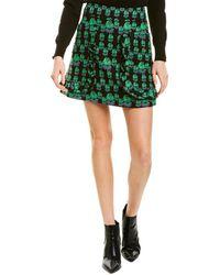Anna Sui Mod Rosette Mini Skirt - Green
