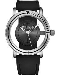 Stuhrling Original Men's Rubber Watch - Multicolour