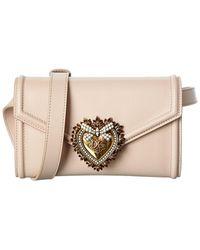 Dolce & Gabbana Devotion Leather Belt Bag - Multicolour