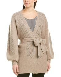 Ronny Kobo Skylar Alpaca & Wool-blend Cardigan - Brown