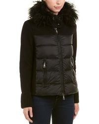 Moncler - Padded Front Wool-blend Jacket - Lyst