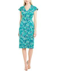 Maggy London Sheath Dress - Green