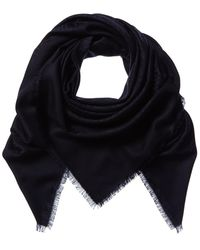 Dior Oblique Wool & Silk-blend Scarf - Multicolour