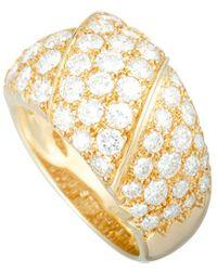 Van Cleef & Arpels Vintage Van Cleef & Arpels 18k 3.25 Ct. Tw. Diamond Ring - Metallic